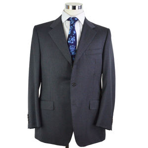 Canali sport coat 100% wool in grey size 44R US